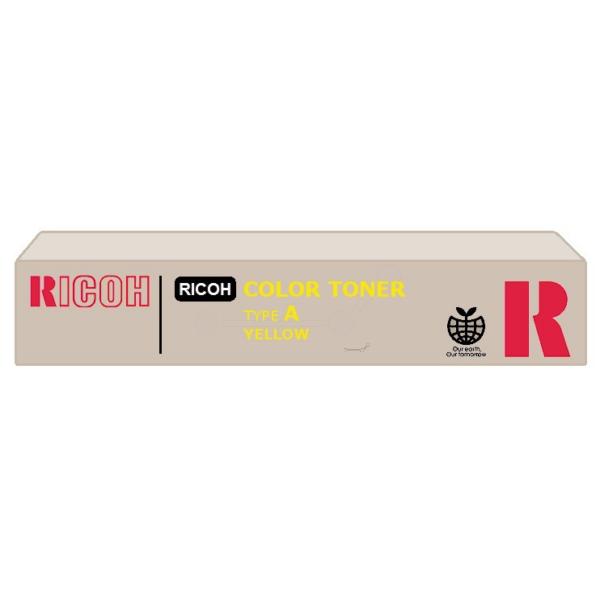 Original Ricoh 889402 / TYPEA Toner gelb