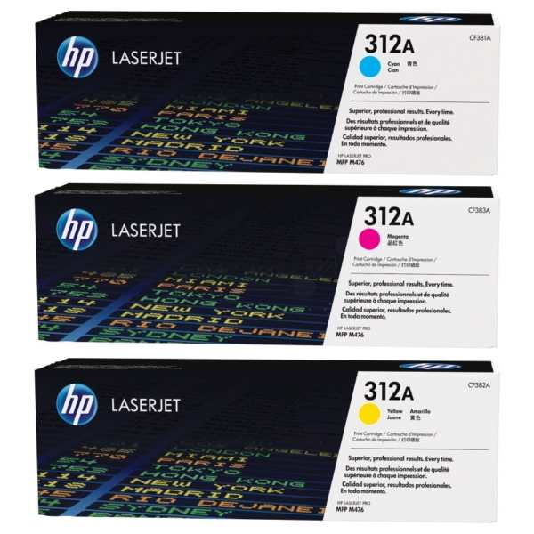 Original HP CF440AM / 312A Toner MultiPack