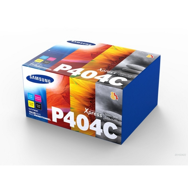 Original Samsung CLTP404CELS / P404C Toner MultiPack