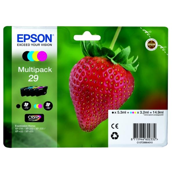 Original Epson C13T29864010 / 29 Tintenpatrone MultiPack