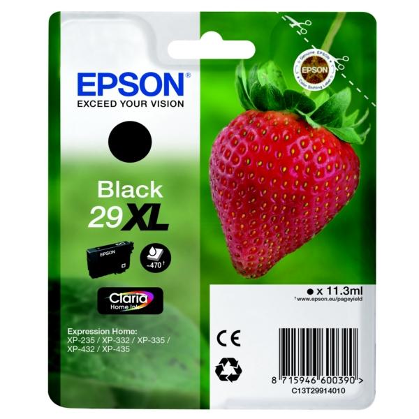 Original Epson C13T29914010 / 29XL Tintenpatrone schwarz