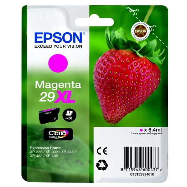 Original Epson C13T29934010 / 29XL Tintenpatrone magenta