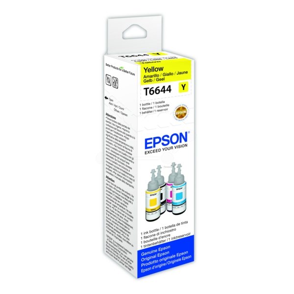 Original Epson C13T664440 / 664 Tintenpatrone gelb