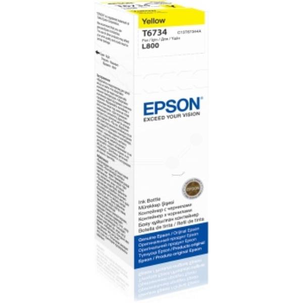 Original Epson C13T67344A / T6734 Tintenpatrone gelb
