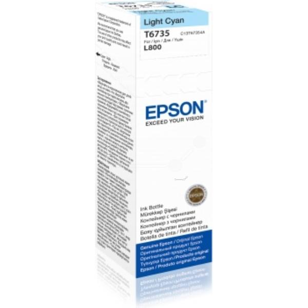 Original Epson C13T67354A / T6735 Tintenpatrone cyan hell