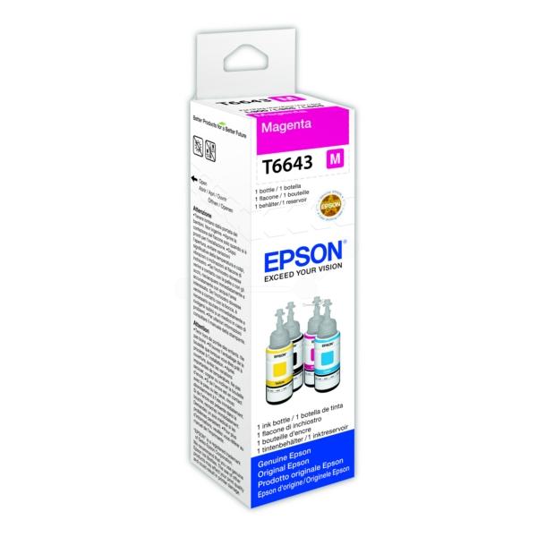 Original Epson C13T664340 / 664 Tintenpatrone magenta