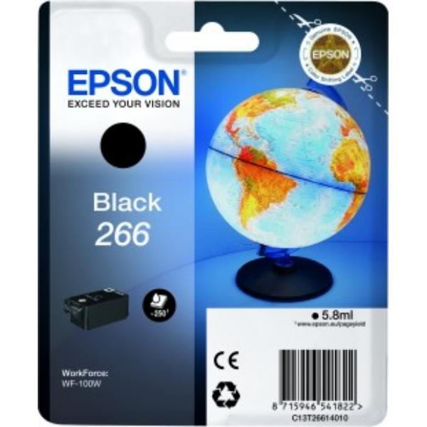 Original Epson C13T26614020 / 266 Tintenpatrone schwarz