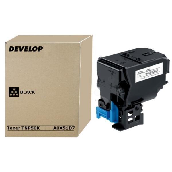 Original Develop A0X51D7 / TNP50K Toner schwarz