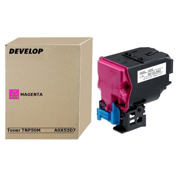 Original Develop A0X53D7 / TNP50M Toner magenta