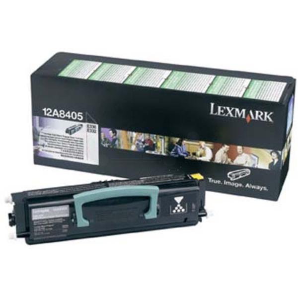 Original Lexmark 12A8405 Toner schwarz