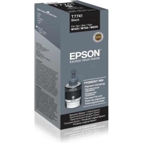 Original Epson C13T77414A / T7741 Tintenpatrone schwarz