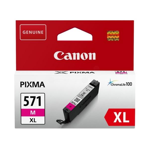 Original Canon 0333C001 / CLI571MXL Tintenpatrone magenta