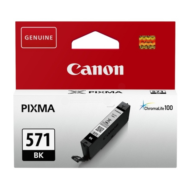 Original Canon 0385C001 / CLI571BK Tintenpatrone schwarz