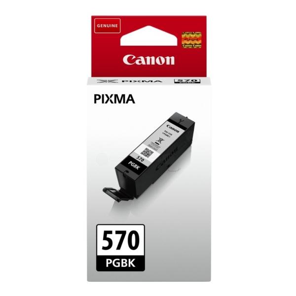 Original Canon 0372C001 / CLI570PGBK Tintenpatrone schwarz