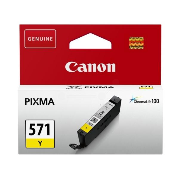 Original Canon 0388C001 / CLI571Y Tintenpatrone gelb