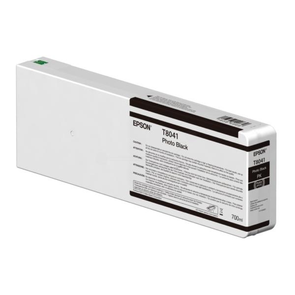 Original Epson C13T804100 / T8041 Tintenpatrone schwarz hell