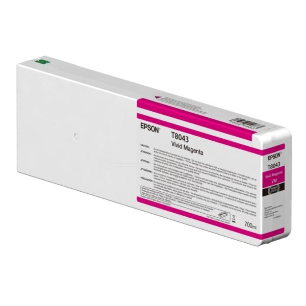Original Epson C13T804300 / T8043 Tintenpatrone magenta