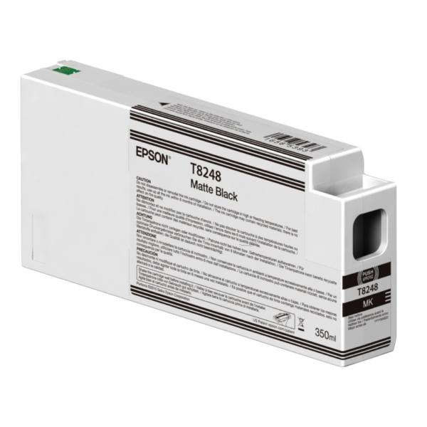 Original Epson C13T824800 / T8248 Tintenpatrone schwarz matt