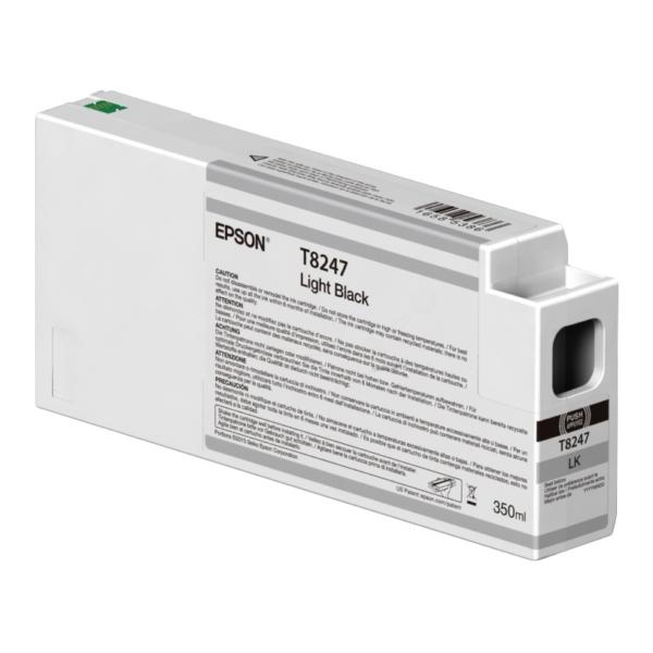 Original Epson C13T824700 / T8247 Tintenpatrone schwarz hell