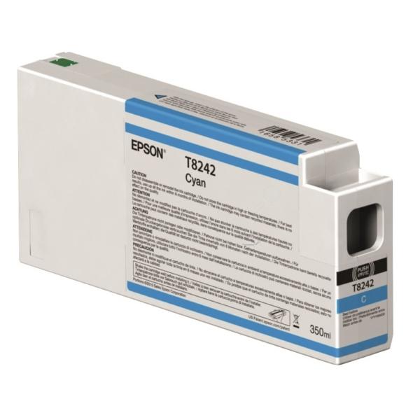 Original Epson C13T824200 / T8242 Tintenpatrone cyan