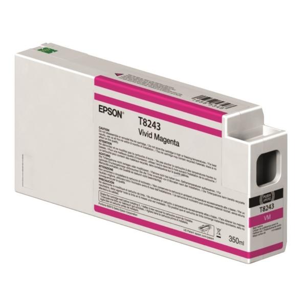 Original Epson C13T824300 / T8243 Tintenpatrone magenta