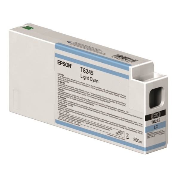 Original Epson C13T824500 / T8245 Tintenpatrone cyan hell