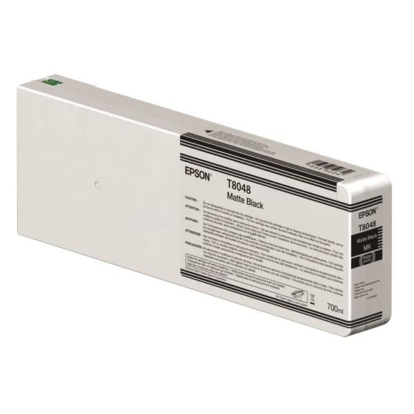 Original Epson C13T804800 / T8048 Tintenpatrone schwarz matt