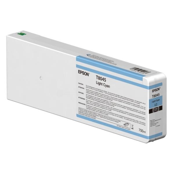 Original Epson C13T804500 / T8045 Tintenpatrone cyan hell