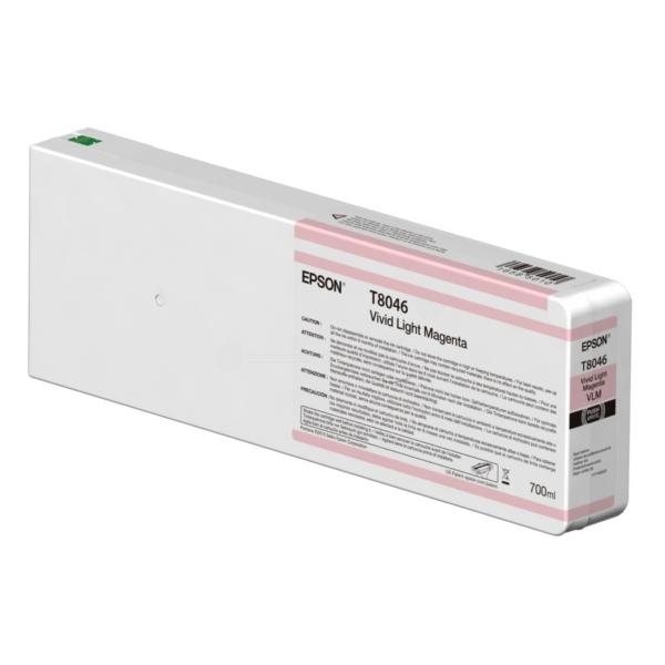 Original Epson C13T804600 / T8046 Tintenpatrone magenta hell
