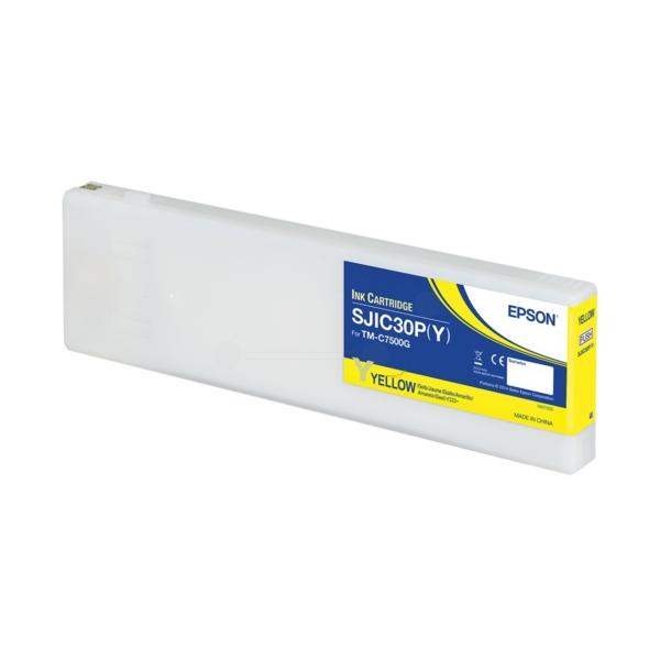 Original Epson C33S020642 / SJIC30PY Tintenpatrone gelb