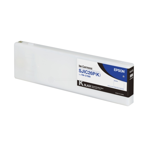 Original Epson C33S020618 / SJIC26PK Tintenpatrone schwarz