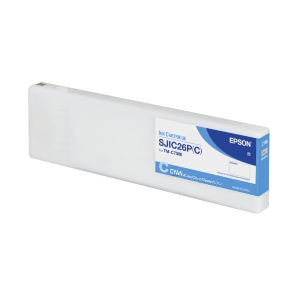 Original Epson C33S020619 / SJIC26PC Tintenpatrone cyan