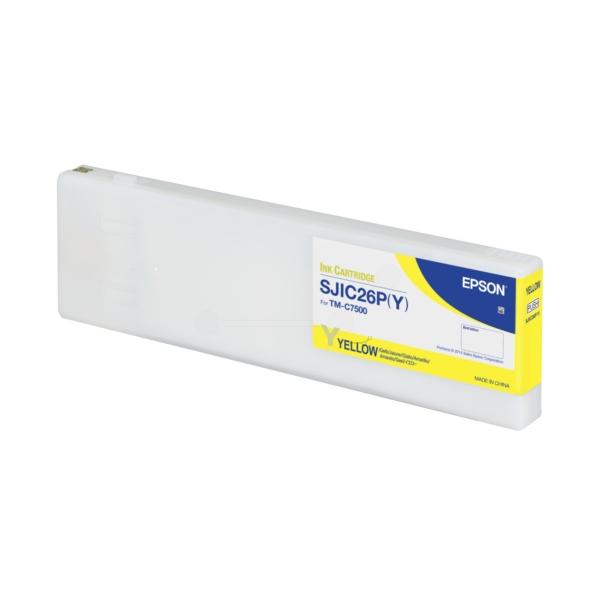 Original Epson C33S020621 / SJIC26PY Tintenpatrone gelb