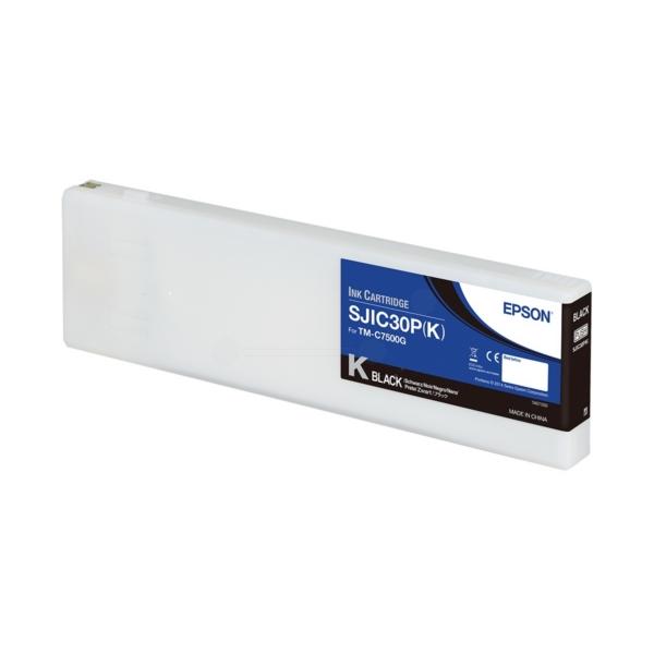 Original Epson C33S020639 / SJIC30PK Tintenpatrone schwarz
