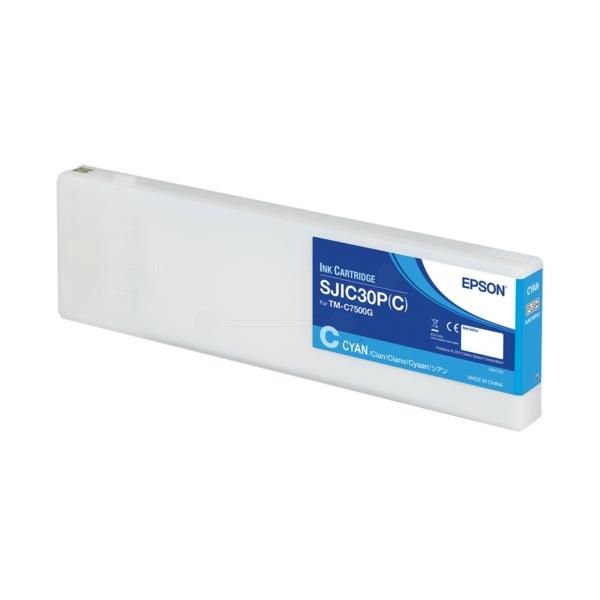 Original Epson C33S020640 / SJIC30PC Tintenpatrone cyan