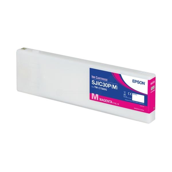 Original Epson C33S020641 / SJIC30PM Tintenpatrone magenta