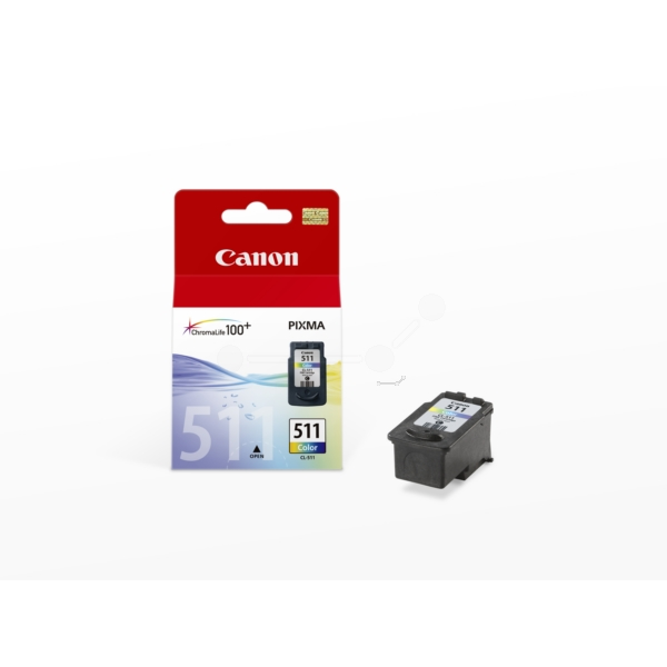 Original Canon 2972B010 / CL511 Druckkopfpatrone color