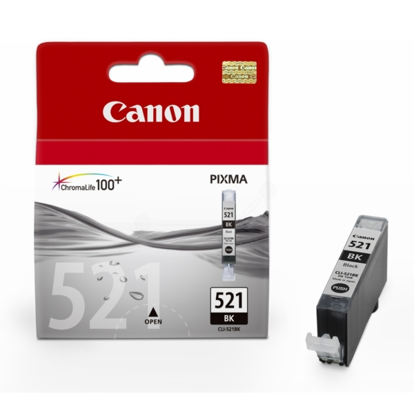 Original Canon 2933B007 / 521BK Ink cartridge black