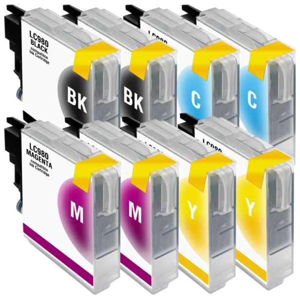 Compatible to Brother LC-980 BK Ink cartridge black