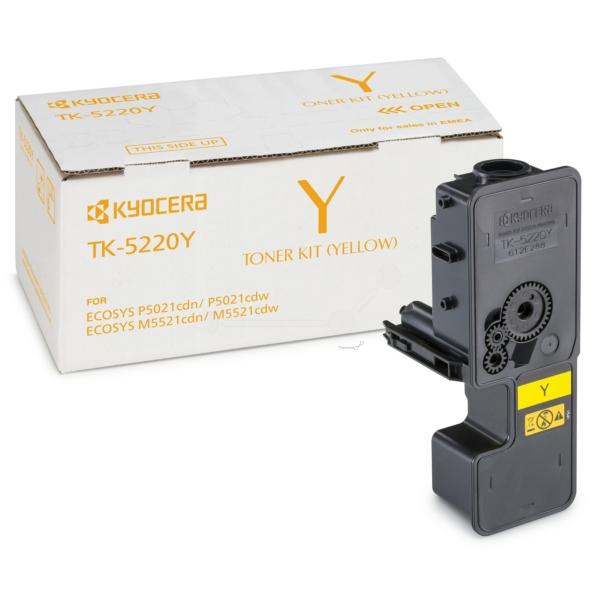 Original Kyocera 1T02R9ANL1 / TK5220Y Toner gelb