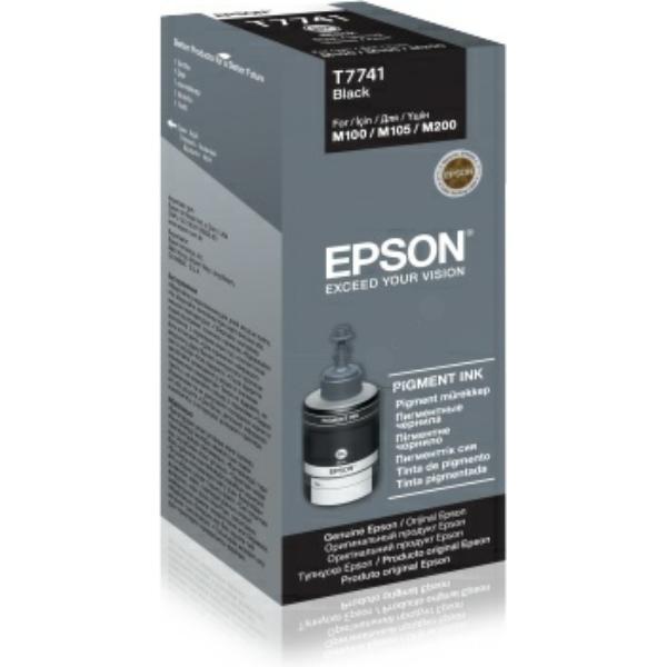 Original Epson C13T774140 / T7741 Tintenpatrone schwarz