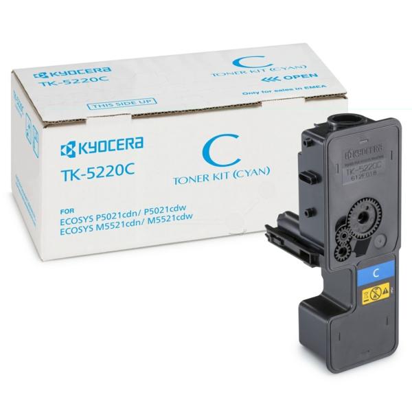 Original Kyocera 1T02R9CNL1 / TK5220C Toner cyan