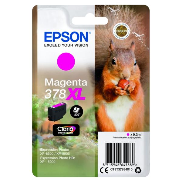 Original Epson C13T37934010 / 378XL Tintenpatrone magenta
