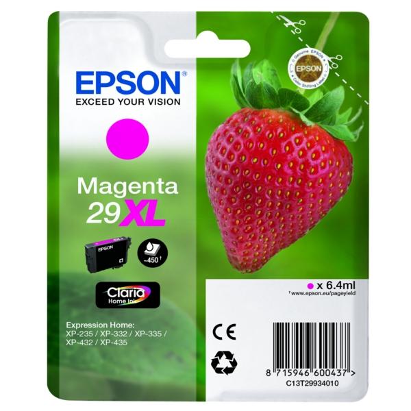 Original Epson C13T29934012 / 29XL Tintenpatrone magenta