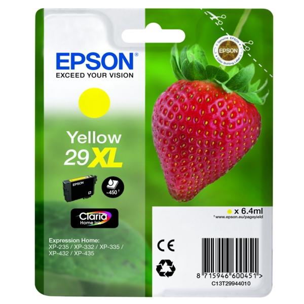 Original Epson C13T29944012 / 29XL Tintenpatrone gelb
