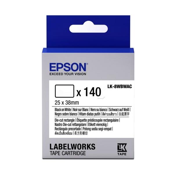 Original Epson C53S658903 / LK8WBWAC DirectLabel-etikettes