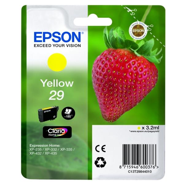 Original Epson C13T29844012 / 29 Tintenpatrone gelb