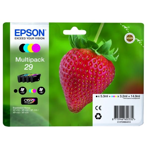 Original Epson C13T29864012 / 29 Tintenpatrone MultiPack