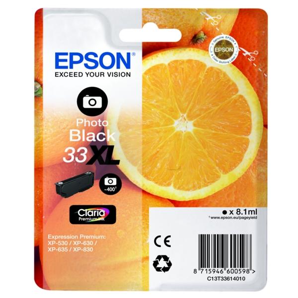 Original Epson C13T33614022 / 33XL Cartouche d'encre gris
