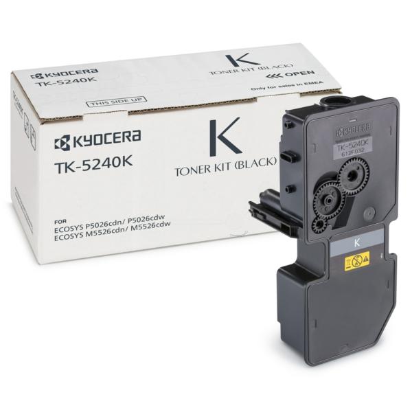 Original Kyocera 1T02R70NL0 / TK5240K Toner noir